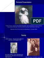 Pictorial Presentation on Mother Teresa