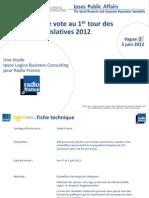 Rapport Ipsos Barometre LEG Vague2