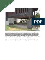Analisis Bangunan Kayu