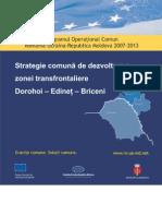 Strategie Comuna de Dezvoltare a Zonei Transfrontaliere Dorohoi - Edinet - Briceni