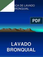 LAVADO BRONQUIAL