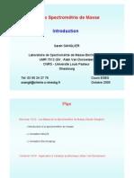 Intro_Spectrometre de Masse - Univ Toulouse