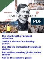 RIZAL'S PHILOSOPHY.TIC.reb