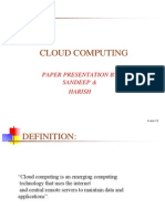 29896059 PPT on Cloud Computing