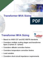Transformer Sizing