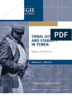 Yemen Tribal Governance and Security APRIL 2012 Carnegie Endowment for International Peace