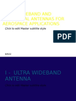 Uwb Conformal Aerospace Antennas