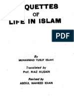 23 Etiquettes of Life in Islam