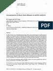 Aromatization of Short Chain Alkanes