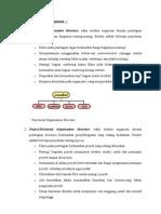 Tiga Tipe Struktur Organisasi
