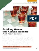 Binge Drinking Part 1