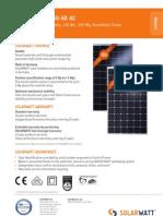 Solarwatt m250-60 Ac Eng