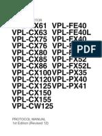 Sony Projector Protocol