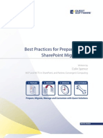 White Paper - Best Practices in SharePoint Migrations - Colin Spence