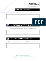 17 Steps to Better Presentations Student Notes