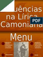 influenciasliricacamoniana