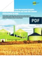 A Discussion Paper on India's Perform Achieve and Trade (PAT) Scheme (1)