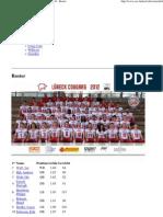 2012 Luebeck g1 Roster