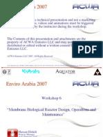 ACWA Emirates LLC - Kubota MBR Design