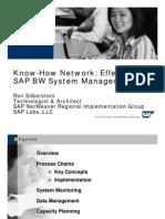 Effective SAP BW System Management - Webinar Webinar Powerpoint