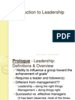 Chap 1_Introduction to Leadership