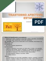 TRASTORNO AFECTIVO ESTACIONAL (sesión)