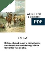 Webquest El Quijote