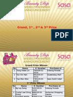 Grand Draw Winner Announcement