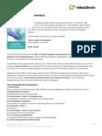Excel Vba Les Fondamentaux