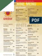 Addis in Cape Wine List