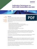 CustomSim VCS Wp