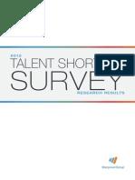 ManpowerGroup Talent-Shortage 2012