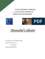 Manualul Calitatii MIC CONSTRUCT