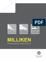 Milliken Maintenance Instruction