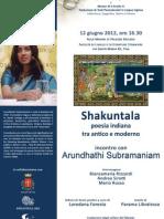 Shakuntala - Poesia indiana tra antico e moderno