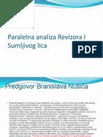 Paralelna Analiza Revizora I Sumljivog Lica