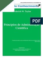 Princípios de Administração Científica - Frederick W. Taylor