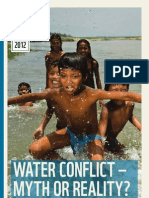WWF Analysis WaterConflict