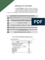 AÇÕES DO GOVERNO FEDERAL COMBATE A SECA