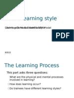 Kolb's Learning Style,