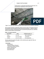 Example Roof Truss Analysis