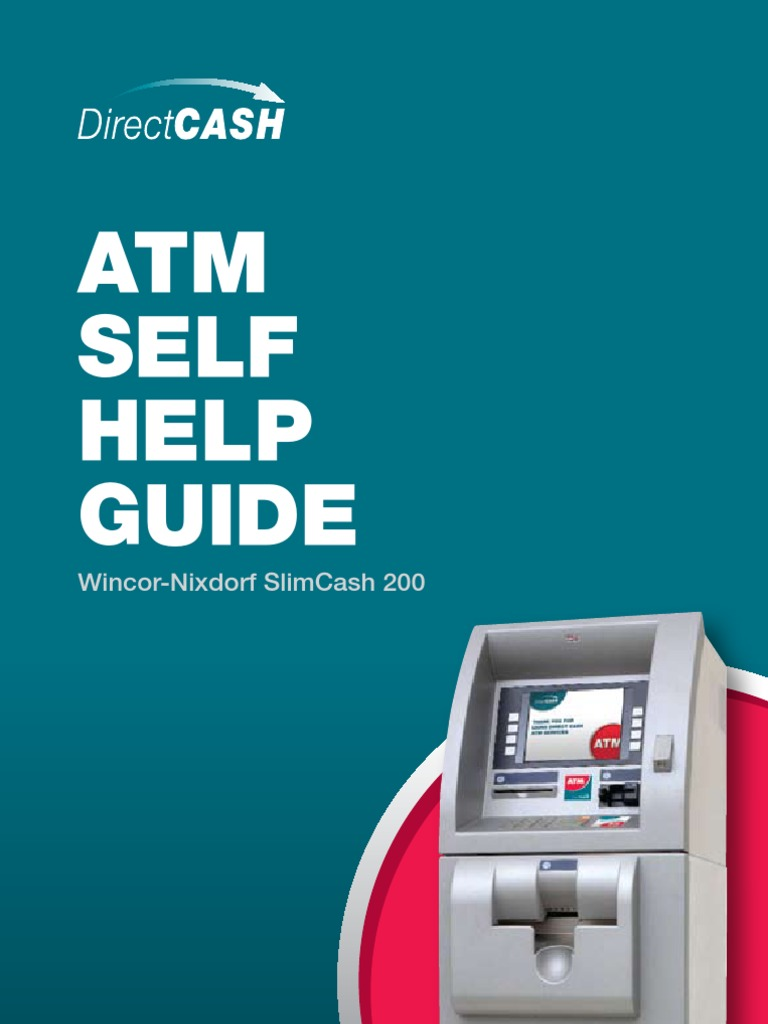 Direct Cash WinNix Slimcash 200 ATM User Guide | Automated Teller Machine |  Computer Data Storage