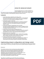 It Management Best Practices for Advanced Network Administration