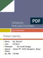 Tension Pneumothorax Cp