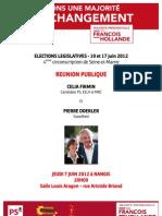 Réunion publique - Nangis 7 Juin 20h