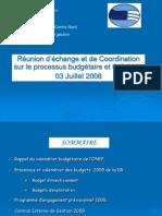 Dr5 Expose Processus Cig Et Budgets 2009