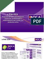 OCA E-PAK Logistica E-Commerce (TARIFAS2012)