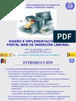 Presentacion Portal Web Inserción Laboral Centroamerica (Antigua Guatemala) Jul 2007