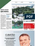Novo Orquidário em Santos será entregue hoje