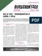 Zeitung gegen den Burschentag 2012